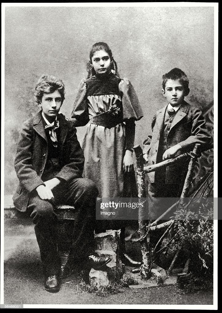 Victor Adler's children Friedrich, Marie and Karl : Photo d'actualité