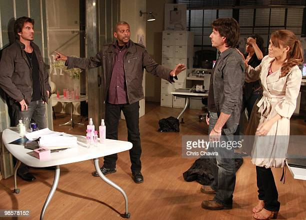 CHILDREN Victor Alfieri Darnell Williams Ricky Paull Goldin Shannon Kane and Chrishell Stause in a scene that airs the week of April 26 2010 on Walt...