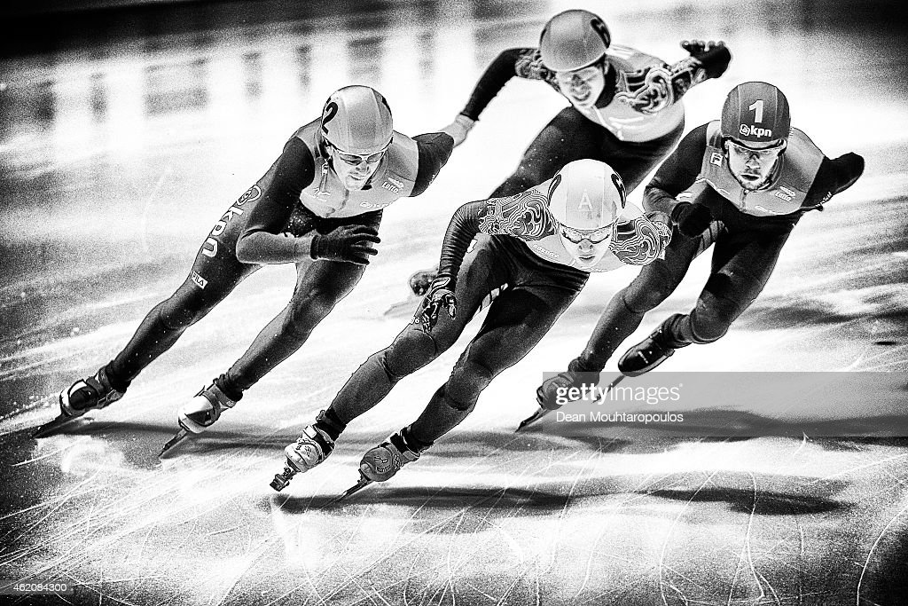 ISU European Short Track Speed Skating Championships 2015 - Day Two