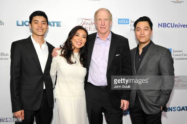 Victor An Vu Hannah An Mike Dreyer and Huy Nguyen attends the UCLA Jonsson Cancer Center Foundation 24th Annual Taste For A Cure Honoring President...