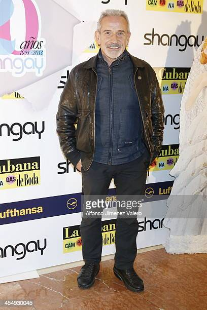 Victor attends Shangay Magazine 20th Anniversary in Madrid at teatro Nuevo Alcala on December 10 2013 in Madrid Spain