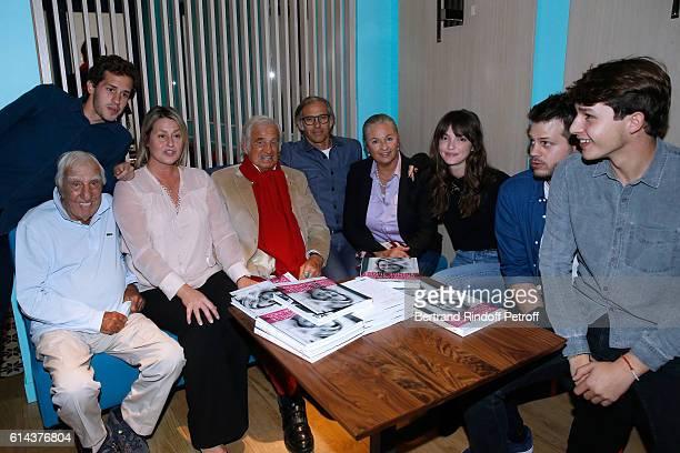 Victor Belmondo actor Charles Gerard Luana Belmondo actor JeanPaul Belmondo his son Paul Belmondo JeanPaul's daughter Florence Belmondo her daughter...