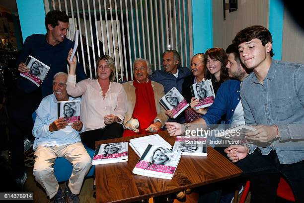 Victor Belmondo actor Charles Gerard Luana Belmondo actor JeanPaul Belmondo his son Paul Belmondo JeanPaul's daughter Florence Belmondo her daughter...