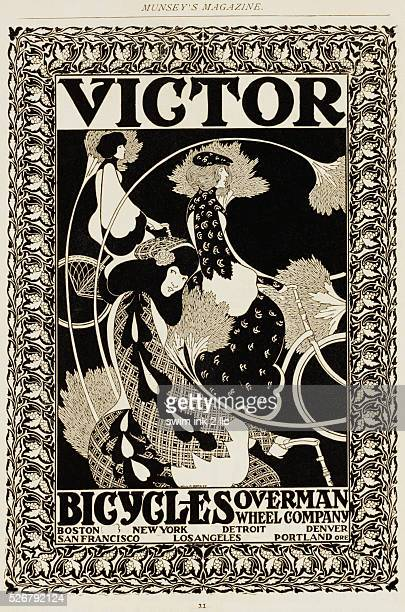 Victor Bicycles Advertisement by William H Bradley