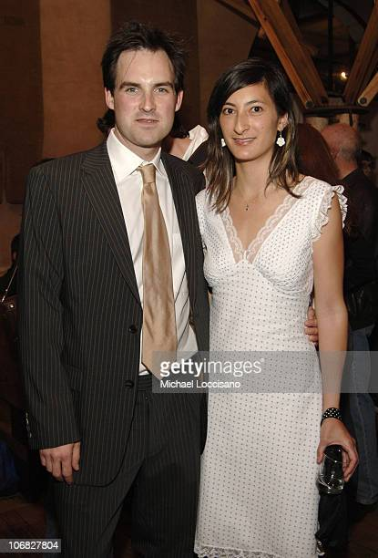Victor Buhler and Jessica Sanders during Showtime Celebrates the Tribeca Film Festival Rikers High Same Sex America and After Innocence at Nobu in...