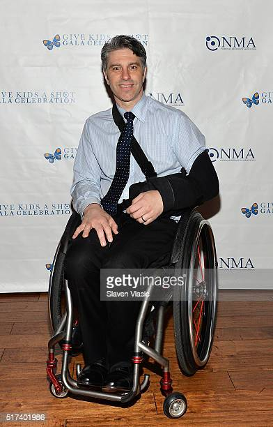 Victor Calise attends the preshow reception for annual 'Give Kids a Shot Gala Celebration' Broadway's support for The National Meningitis Association...