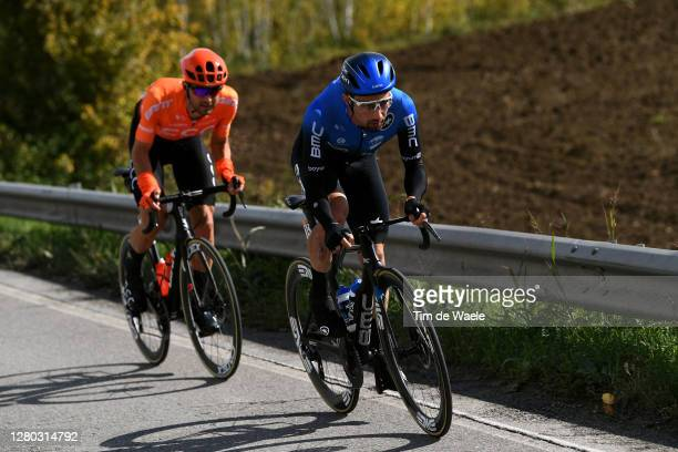 Victor Campenaerts of Belgium and NTT Pro Cycling Team / Joey Rosskopf of The United States and CCC Team / Breakaway / during the 103rd Giro d'Italia...