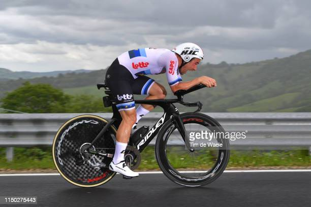 Victor Campenaerts of Belgium and Team Lotto Soudal / during the 102nd Giro d'Italia 2019, Stage 9 a 34,8km Individual Time Trial from Riccione to...