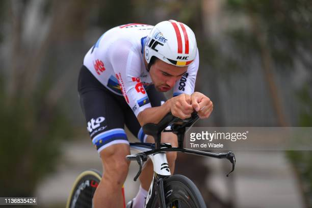 Victor Campenaerts of Belgium and Team Lotto Soudal / during the 54th Tirreno-Adriatico 2019, Stage 7 a 10,05km Individual Time Trial stage from San...