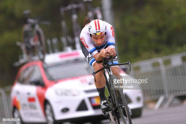 Victor Campenaerts of Belgium and Team Lotto Soudal European Champion Jersey during the 101th Tour of Italy 2018, Stage 1 a 9,7km Individual Time...