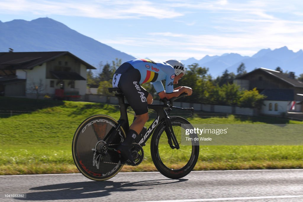91st UCI Road World Championships 2018 - Individual Time Trial Men Elite : News Photo