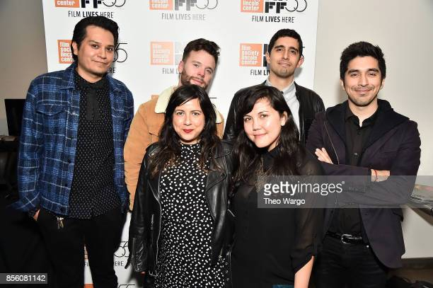 Victor Capice Angelita Mendoza Scott Morgan Natalie Erika James Gabriel de Urioste and Juan Pablo Arias Munoz attend the 55th New York Film Festival...