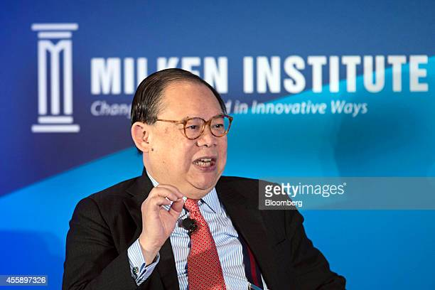 Victor Chu chairman of First Eastern Investment Group speaks at the Milken Institute Asia Summit in Singapore on Friday Sept 19 2014 Chief executive...