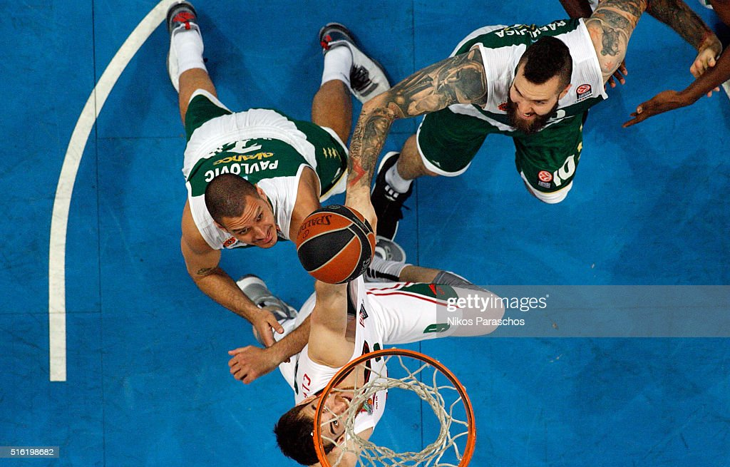 Panathinaikos Athens v Lokomotiv Kuban Krasnodar - Turkish Airlines Euroleague