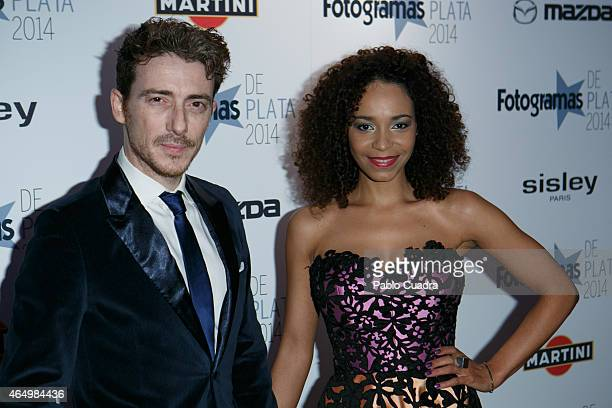 Victor Clavijo and Montse Pla attend 'Fotogramas Awards 2014' at Joy Eslava theater on March 2 2015 in Madrid Spain