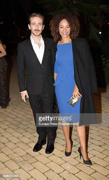 Victor Clavijo and Montse Pla attend Men's Health 2014 Awards at Goya Theatre on October 28 2014 in Madrid Spain
