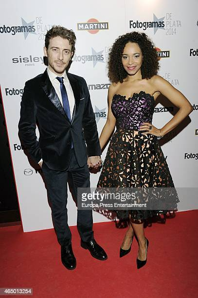 Victor Clavijo and Montse Pla attend the 'Fotogramas Awards' 2015 on March 2 2015 in Madrid Spain