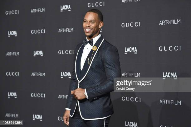 Victor Cruz attends LACMA Art Film Gala 2018 at Los Angeles County Museum of Art on November 3 2018 in Los Angeles CA