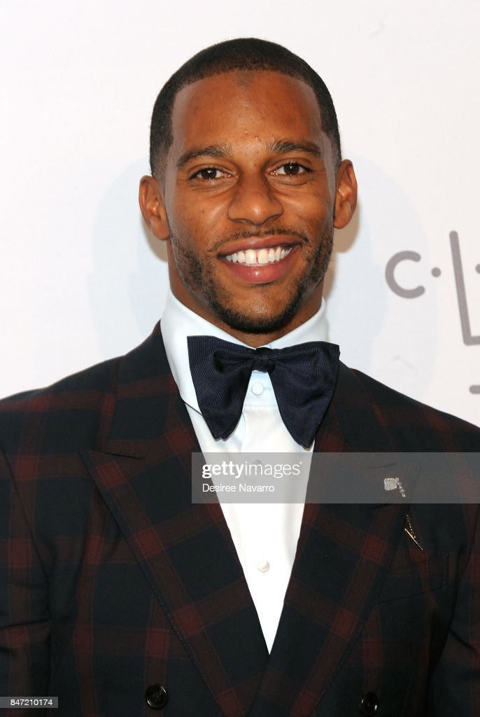 Victor Cruz attends Rihanna's 3rd Annual Diamond Ball at Cipriani Wall Street on September 14, 2017 in New York City.
