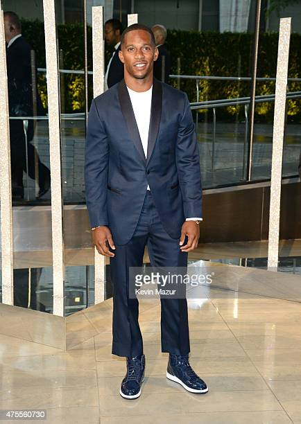 Victor Cruz attends the 2015 CFDA Fashion Awards at Alice Tully Hall at Lincoln Center on June 1 2015 in New York City