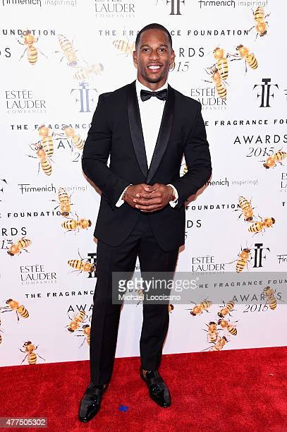 Victor Cruz attends the 2015 Fragrance Foundation Awards at Alice Tully Hall at Lincoln Center on June 17 2015 in New York City