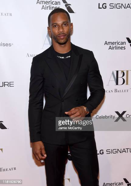 Victor Cruz attends the American Ballet Theatre 2019 Fall Gala at David H Koch Theater at Lincoln Center on October 16 2019 in New York City