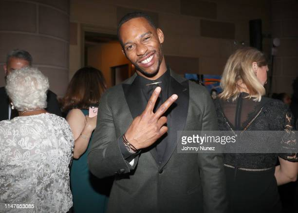 Victor Cruz attends the Bronx Children's Museum Third Annual Gala and Benefit Honoring Rita Moreno at Gotham Hall on May 07 2019 in New York City