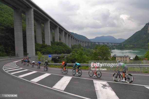 Victor De La Parte of Spain and CCC Team / Dario Cataldo of Italy and Astana Pro Team / Francesco Gavazzi of Italy and Team Androni Giocattoli -...