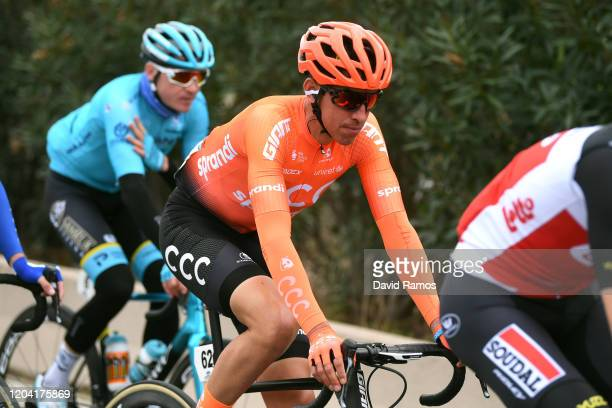 Victor De La Parte of Spain and CCC Team / during the 71st Volta a la Comunitat Valenciana 2020 Stage 1 a 180km stage from Castelló to VilaReal /...