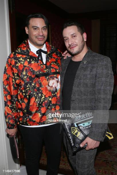 Victor dE Souza and Dustin Lujan at Martin and Jean Shafiroff Host Cocktails for Surgeons of Hope at Private Residence on June 11 2019 in New York...