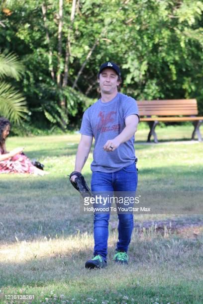 Victor DiMattia is seen on May 28 2020 in Los Angeles CA