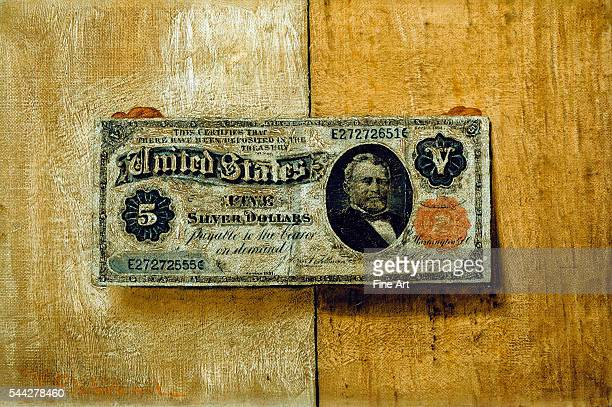 Victor Dubreuil Five Dollar Bill c 1885 oil on canvas Phillips Collection Washington DC