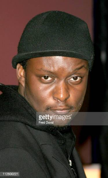 """Victor Ebuwa from BB5 during """"Hell's Kitchen II"""" - Day 12 - Arrivals at Brick Lane in London, Great Britain."""