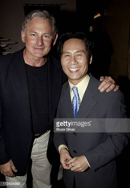 Victor Garber and BD Wong during BDWong Book Release Party for Following Foo at Ruby Foo's in New York City New York United States
