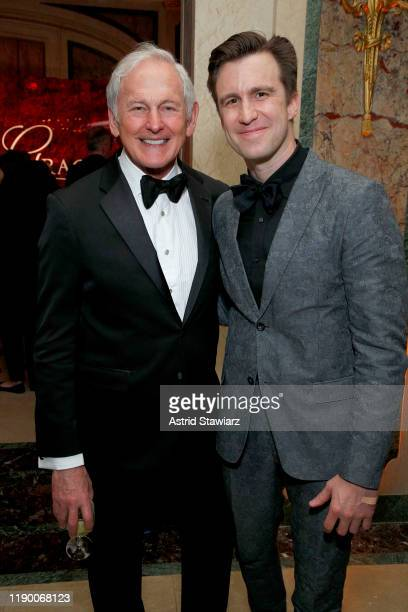 Victor Garber and Gavin Creel attend the 2019 Princess Grace Awards Gala on November 25 2019 in New York City