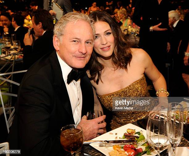 Victor Garber and Jennifer Garner attend the 19th Annual Screen Actors Guild Awards at The Shrine Auditorium on January 27 2013 in Los Angeles...
