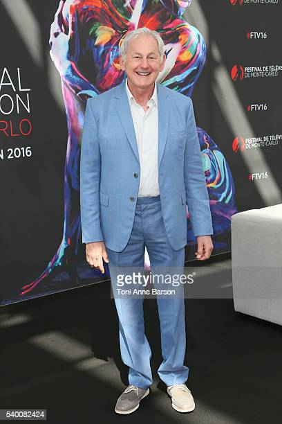 Victor Garber attends DC's Legends of Tomorrow Photocall as part of the 56th Monte Carlo Tv Festival at the Grimaldi Forum on June 13 2016 in...