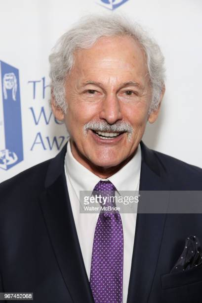 Victor Garber attends the 74th Annual Theatre World Awards at Circle in the Square on June 4 2018 in New York City