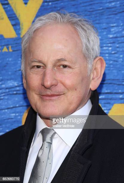 Victor Garber attends the Broadway Opening Night performance for 'Come From Away' at the Gerald Schoenfeld Theatre on March 12 2017 in New York City