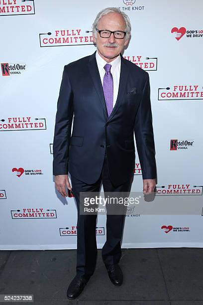 Victor Garber attends the opening night of Fully Committed at Lyceum Theatre on April 25 2016 in New York City