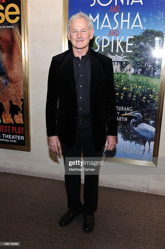 Victor Garber attends the opening night of 'Vanya And Sonia And Masha And Spike' at Mitzi E. Newhouse Theater on November 12, 2012 in New York City.