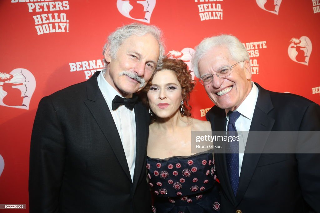 "Bernadette Peters Celebrates Her Opening Night In ""Hello Dolly"" On Broadway"
