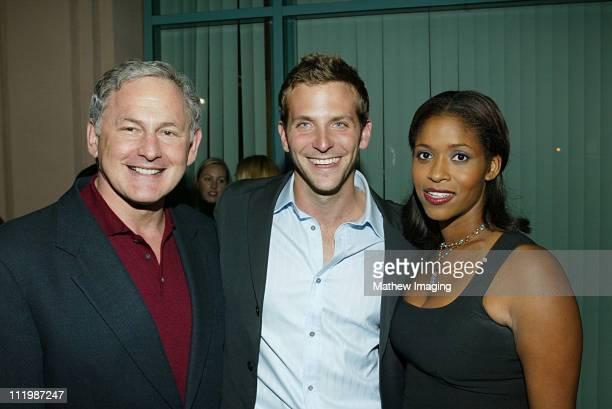 Victor Garber Bradley Cooper and Merrin Dungey during Behind The Scenes Of Alias at ATAS in North Hollywood CA United States