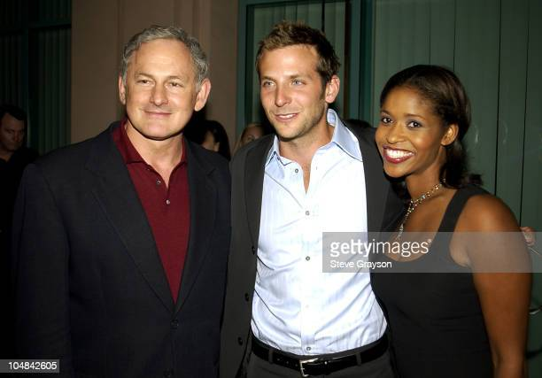 Victor Garber Bradley Cooper Merrin Dungey during ATAS Presents Behind The Scenes of 'Alias' at The Academy of Television Arts Sciences in North...