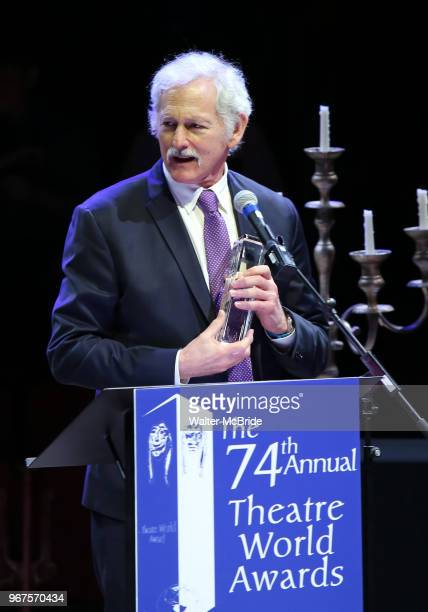 Victor Garber during the 74th Annual Theatre World Awards at Circle in the Square on June 4 2018 in New York City