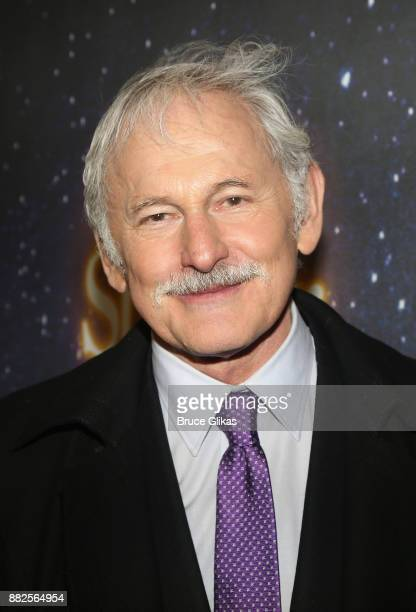 Victor Garber poses at The Opening Night of Steve Martin's new play Meteor Shower on Broadway at The Booth Theatre on November 29 2017 in New York...