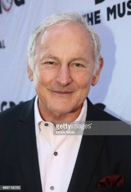 Victor Garber poses at the opening night of the new musical based on the film Groundhog Day on Broadway at The August Wilson Theatre on April 17 2017...