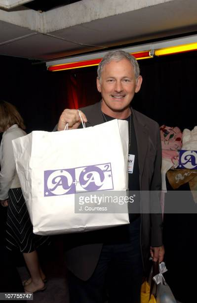 Victor Garber with A A2 Jamatex Loungewear Gift Bag