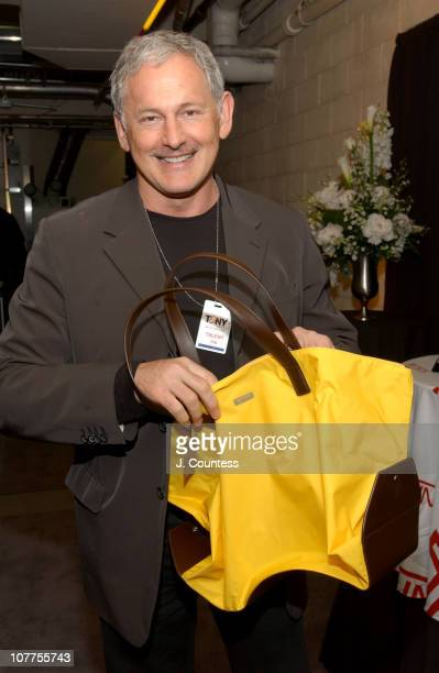 Victor Garber with Tumi Satchel Bag during 58th Annual Tony Awards On 3 Productions Gift Lounge at Radio City Music Hall in New York City New York...