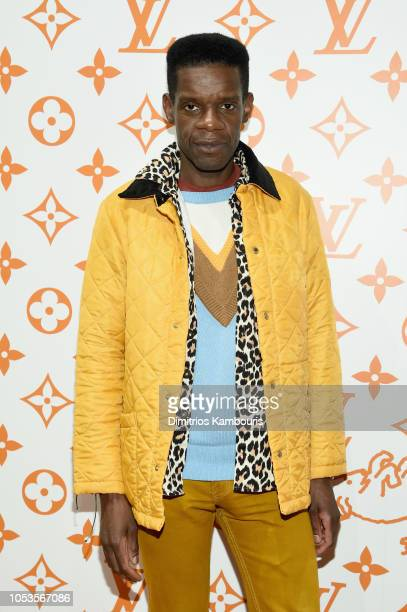 Victor Glemaud attends the Louis Vuitton X Grace Coddington Event on October 25 2018 in New York City